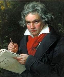 ベートーヴェンの写真(Wikipedia より)